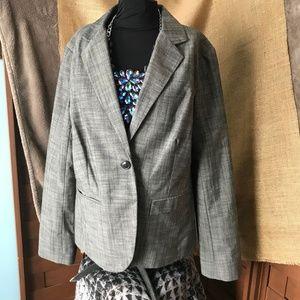 Apt 9 Grey Blazer w Pockets!